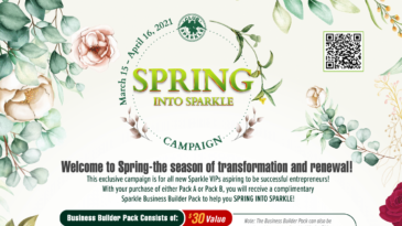 Spring Into Sparkle Campaign in USA